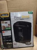 Fellowes power shred M-8C RRP £45 Grade U