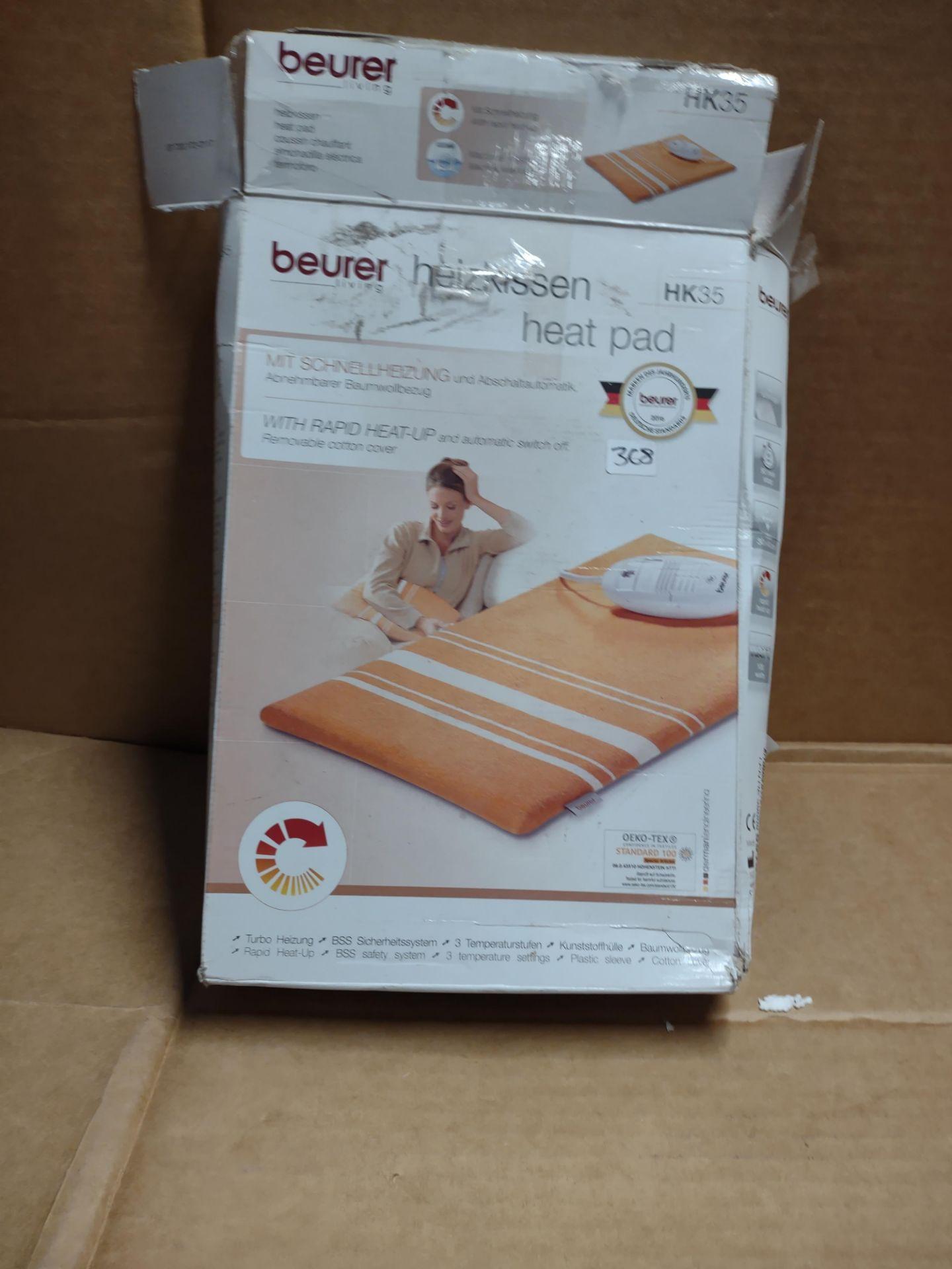 Beurer Heat pad RRP £32 Grade U