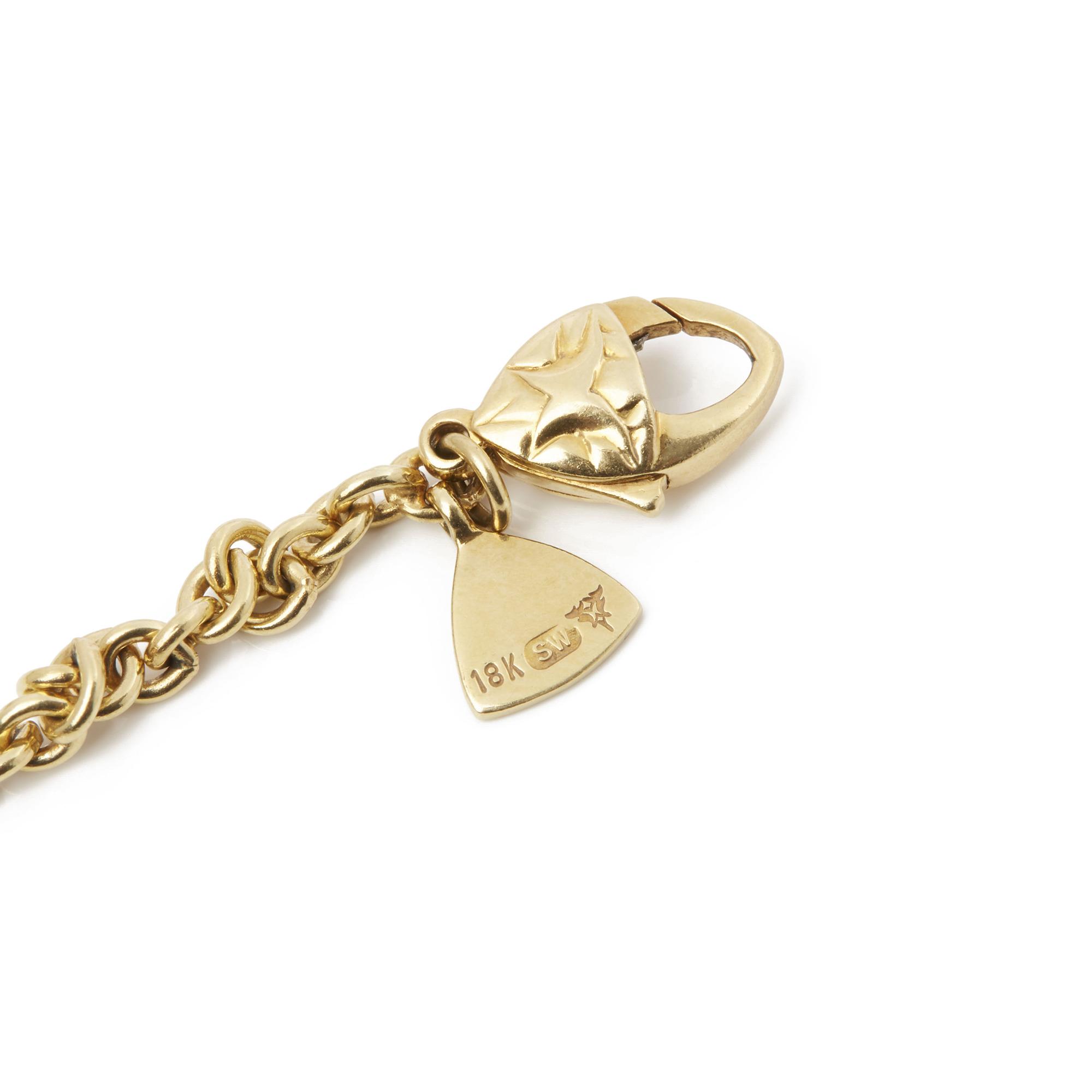 Stephen Webster 18k Yellow Gold Citrine & Diamond Crystal Haze Pendant Necklace - Image 5 of 8