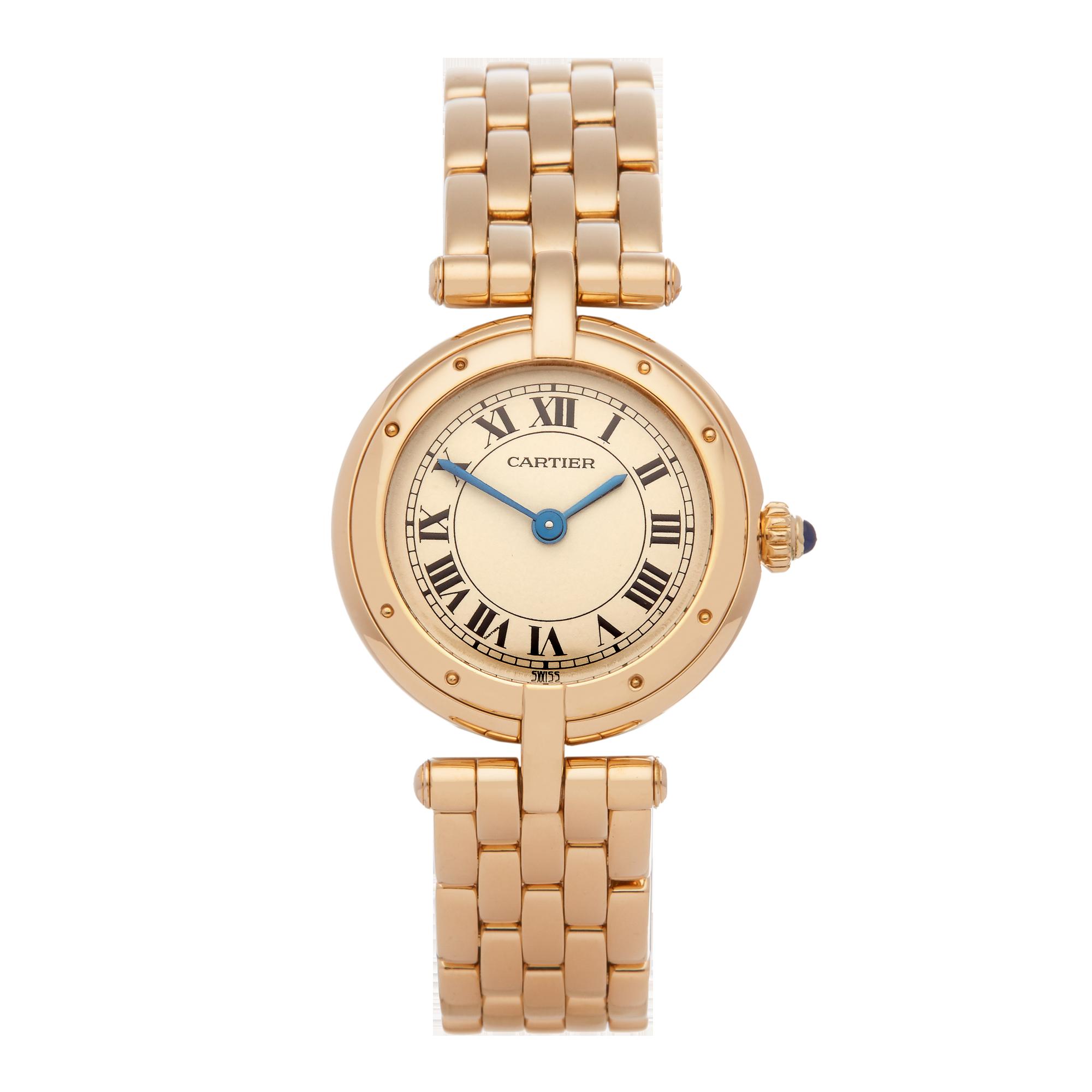 Cartier Panthère Vendome Ladies Yellow Gold Watch