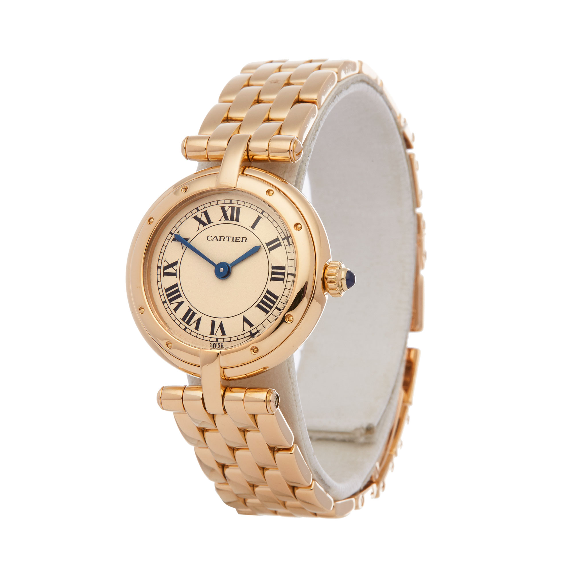 Cartier Panthère Vendome Ladies Yellow Gold Watch - Image 8 of 9
