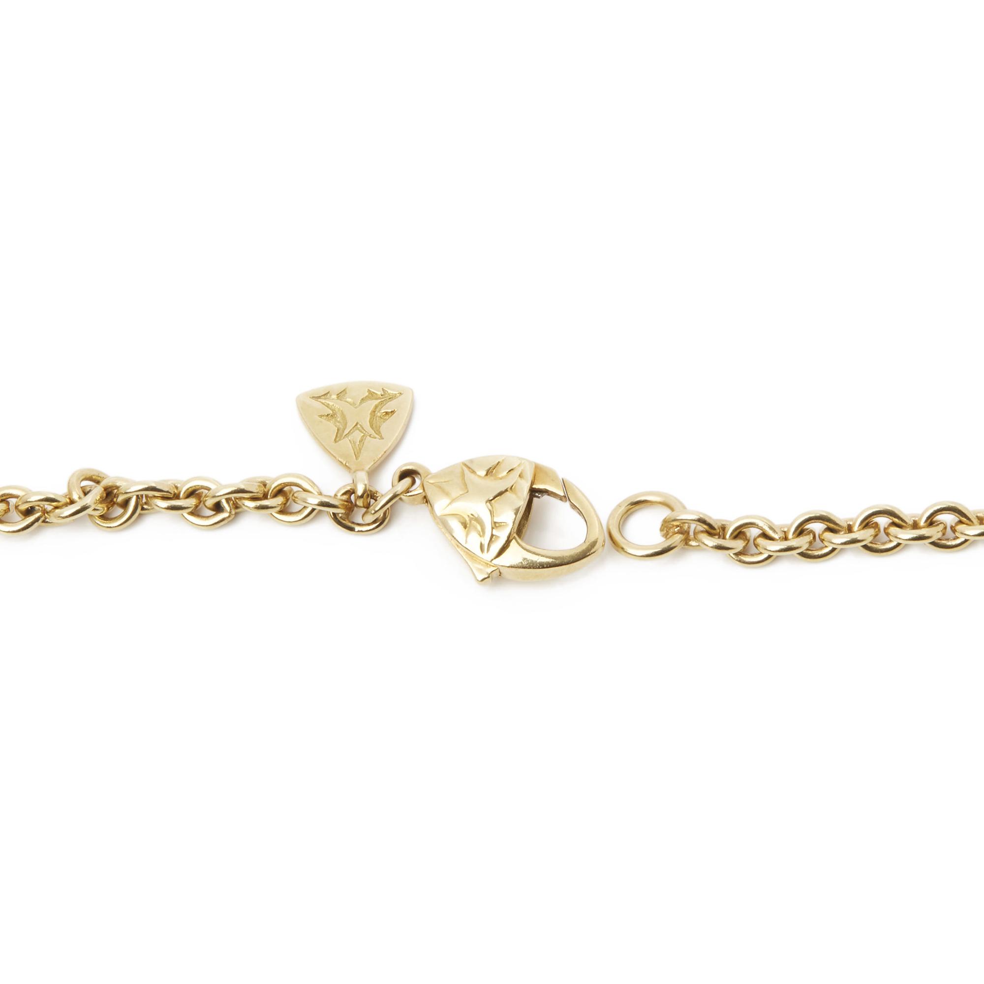 Stephen Webster 18k Yellow Gold Citrine & Diamond Crystal Haze Pendant Necklace - Image 6 of 8