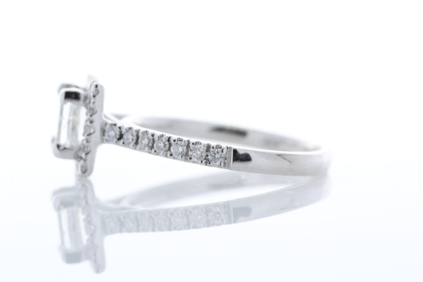 18ct White Gold Halo Set Princess Cut Diamond Ring 1.36 Carats - Image 2 of 6