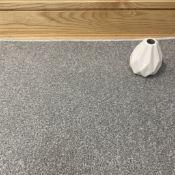 100 Square Metres Full Roll Silver Carpet