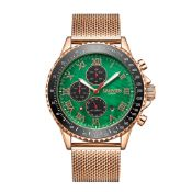 Limited Edition Hand Assembled Gamages Pinnacle Automatic Rose Green – 5 Year Warranty & Free Delive