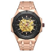 Limted Edition Hand Assembled Gamages Maverick Automatic Rose– 5 Year Warranty & Free Delivery