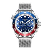 Limited Edition Hand Assembled Gamages Sports Timer Automatic Steel – 5 Year Warranty & Free Deliver