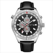 Limited Edition Hand Assembled Gamages Hour Rotator Automatic Steel – 5 Year Warranty & Free Deliver