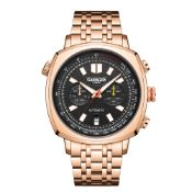 Limited Edition Hand Assembled Gamages Retro Automatic Rose Gold – 5 Year Warranty & Free Delivery