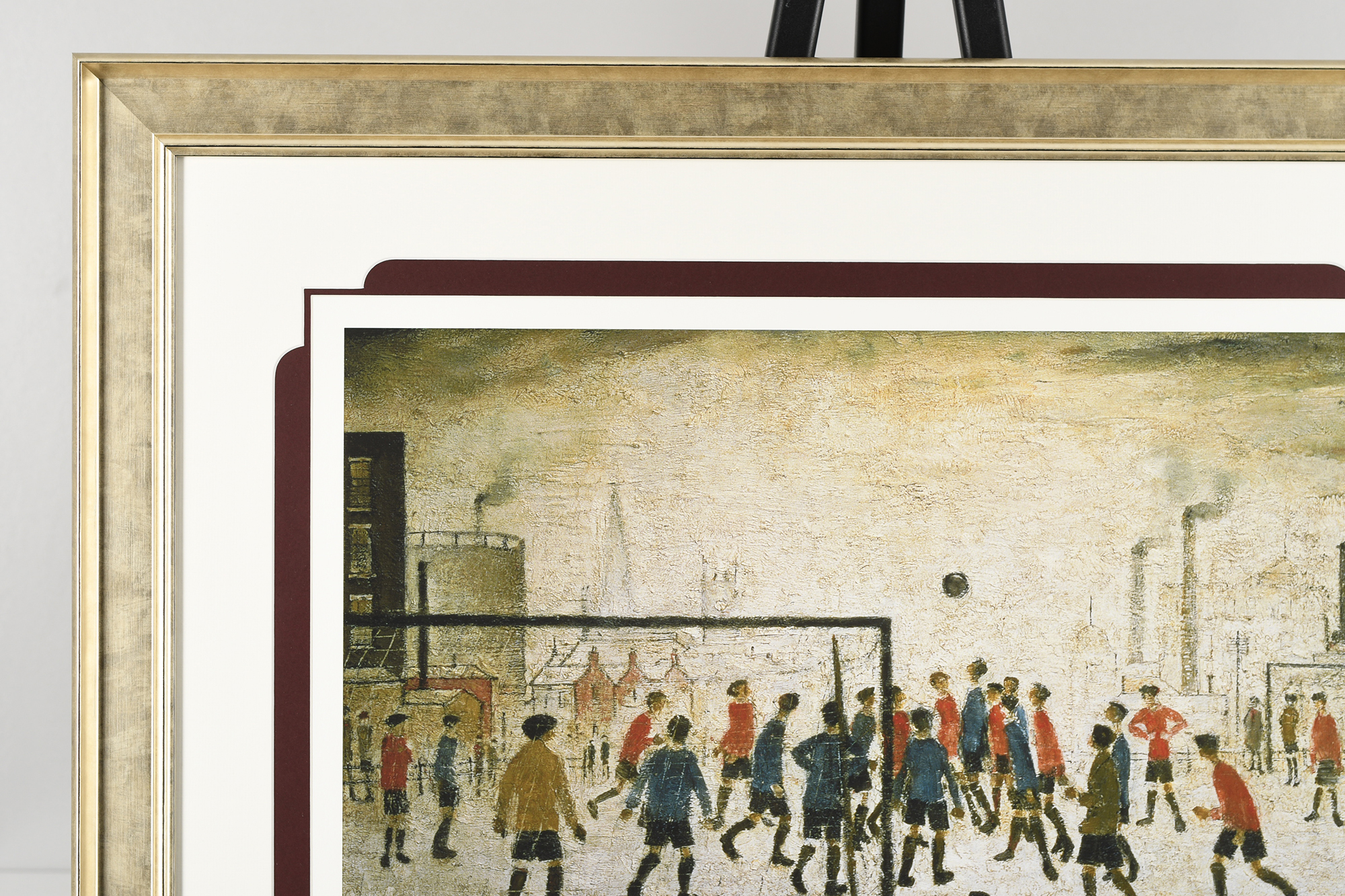 """Limited Edition by L.S. Lowry """"The Football Match"""" - Image 4 of 8"""