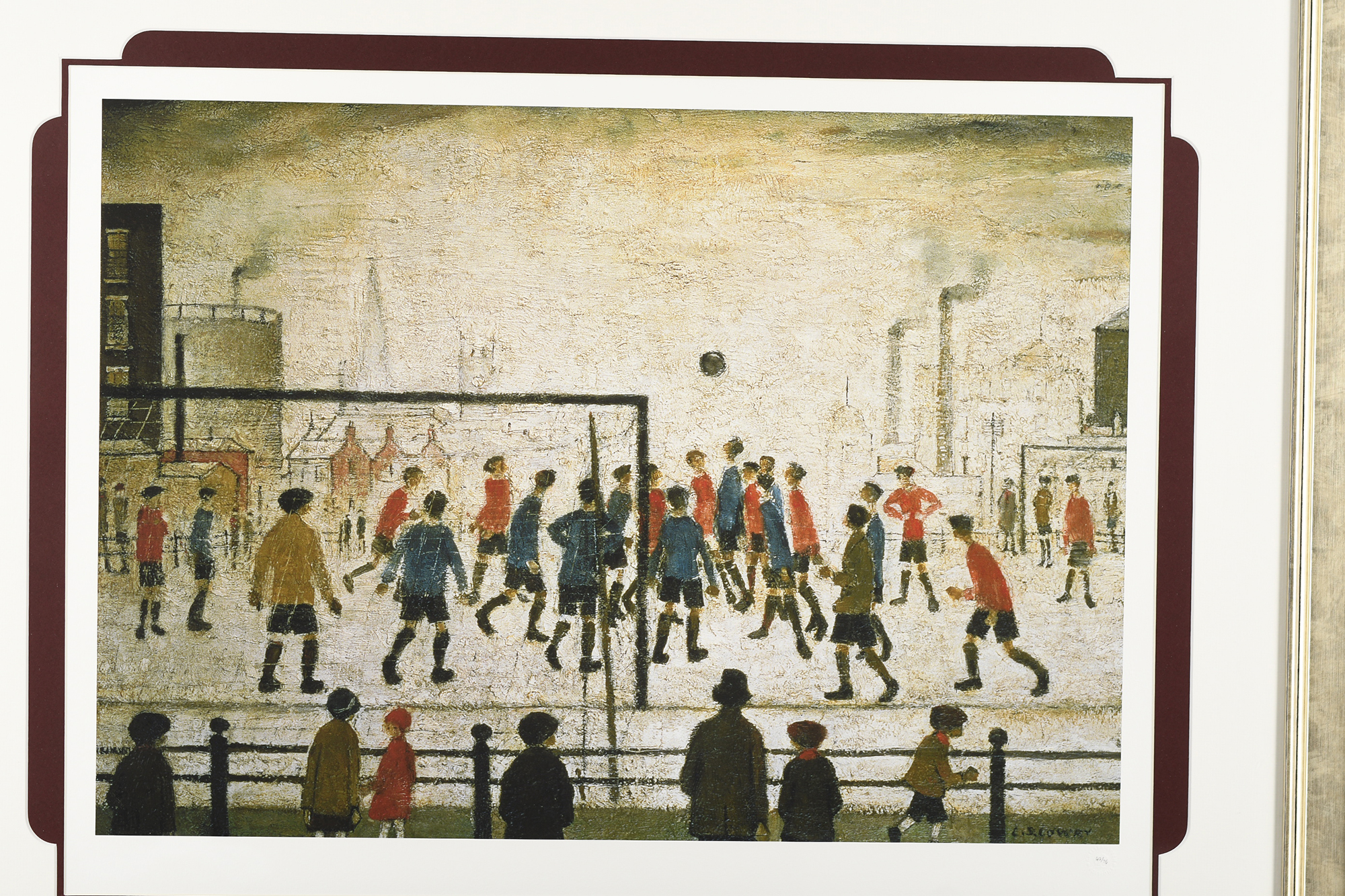 """Limited Edition by L.S. Lowry """"The Football Match"""" - Image 2 of 8"""