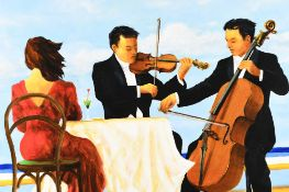 Original Oil on Canvas by English artist Benson Ryal