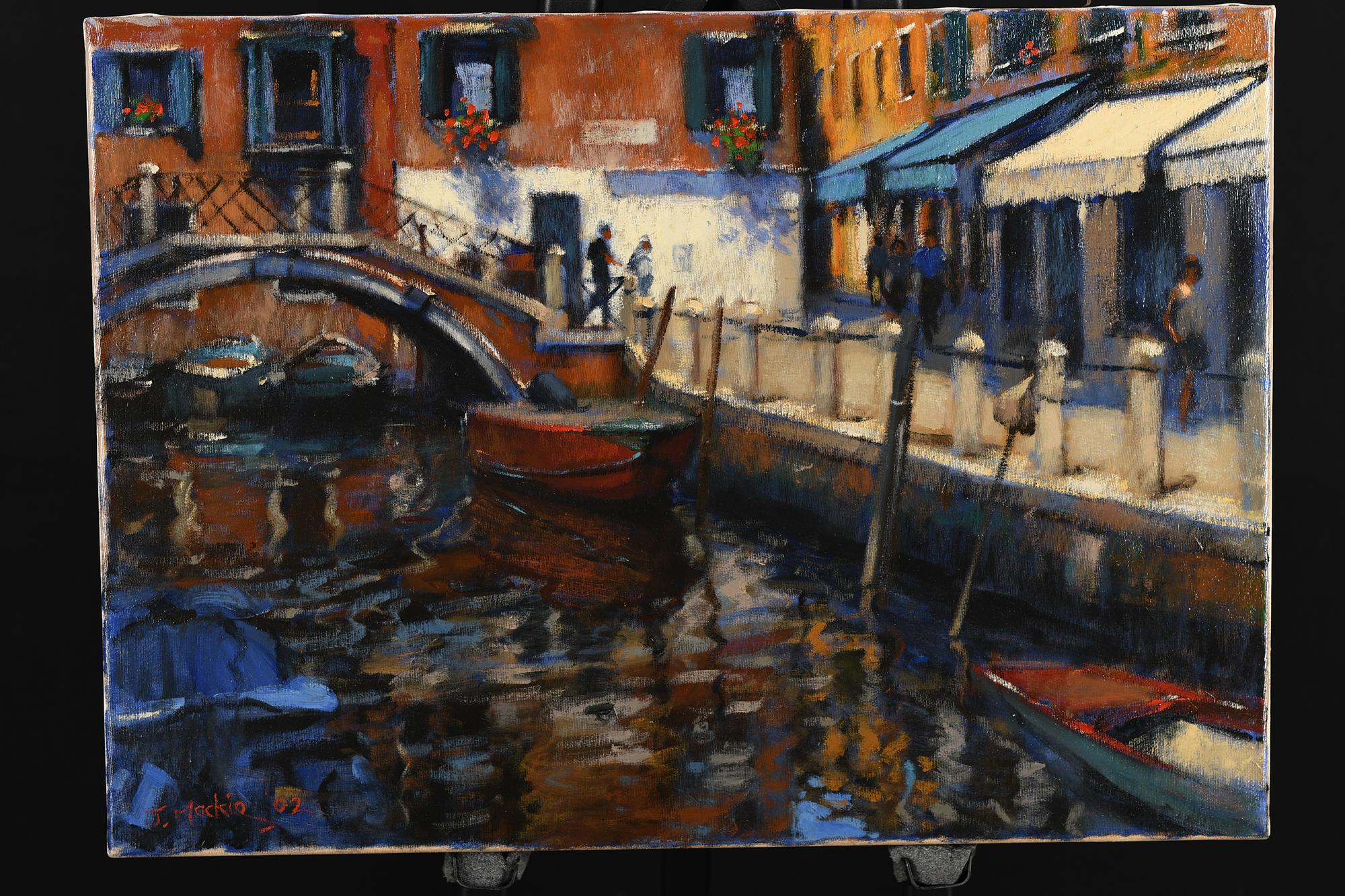 John Mackie original Painting