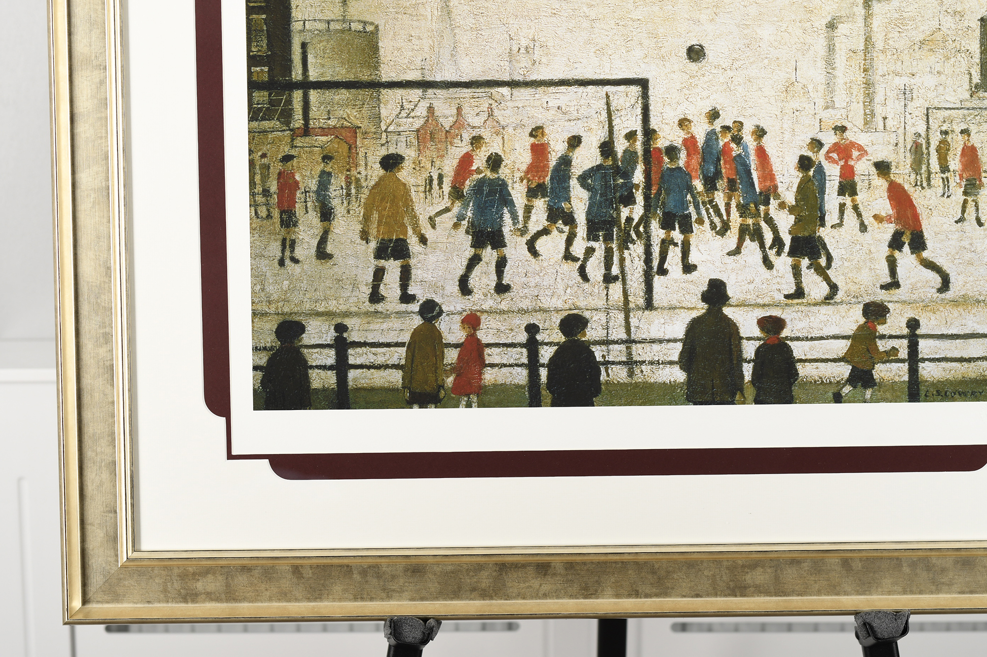 """Limited Edition by L.S. Lowry """"The Football Match"""" - Image 8 of 8"""