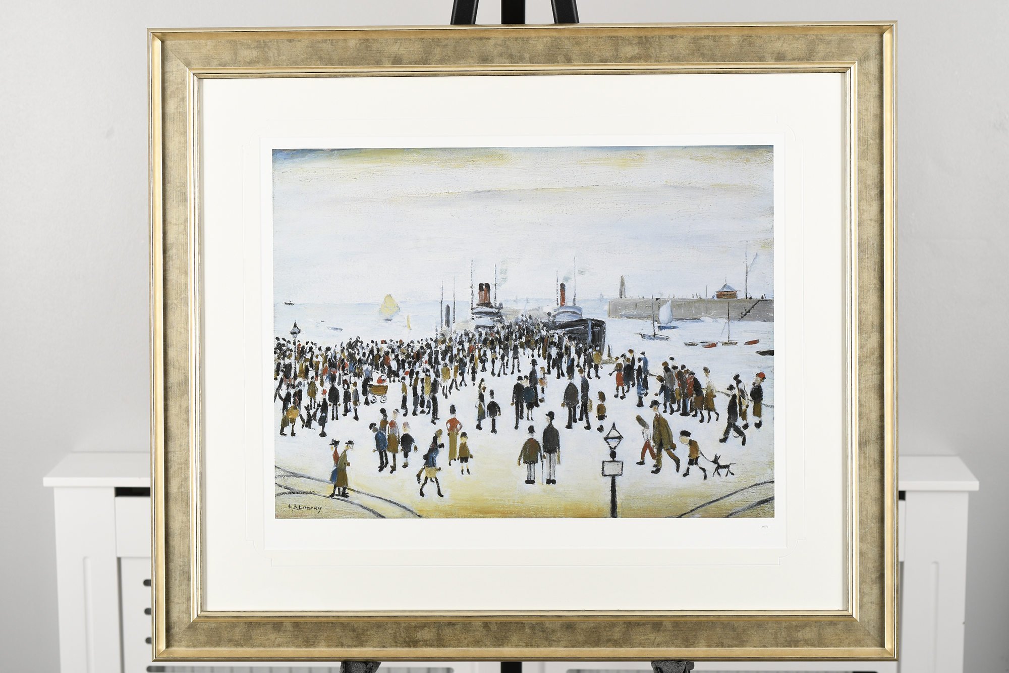 """L.S. Lowry Limited Edition """"The Ferry Boats"""""""