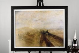 """Limited Edition by J.M.W Turner """"Rain, Speed, and Speed"""""""