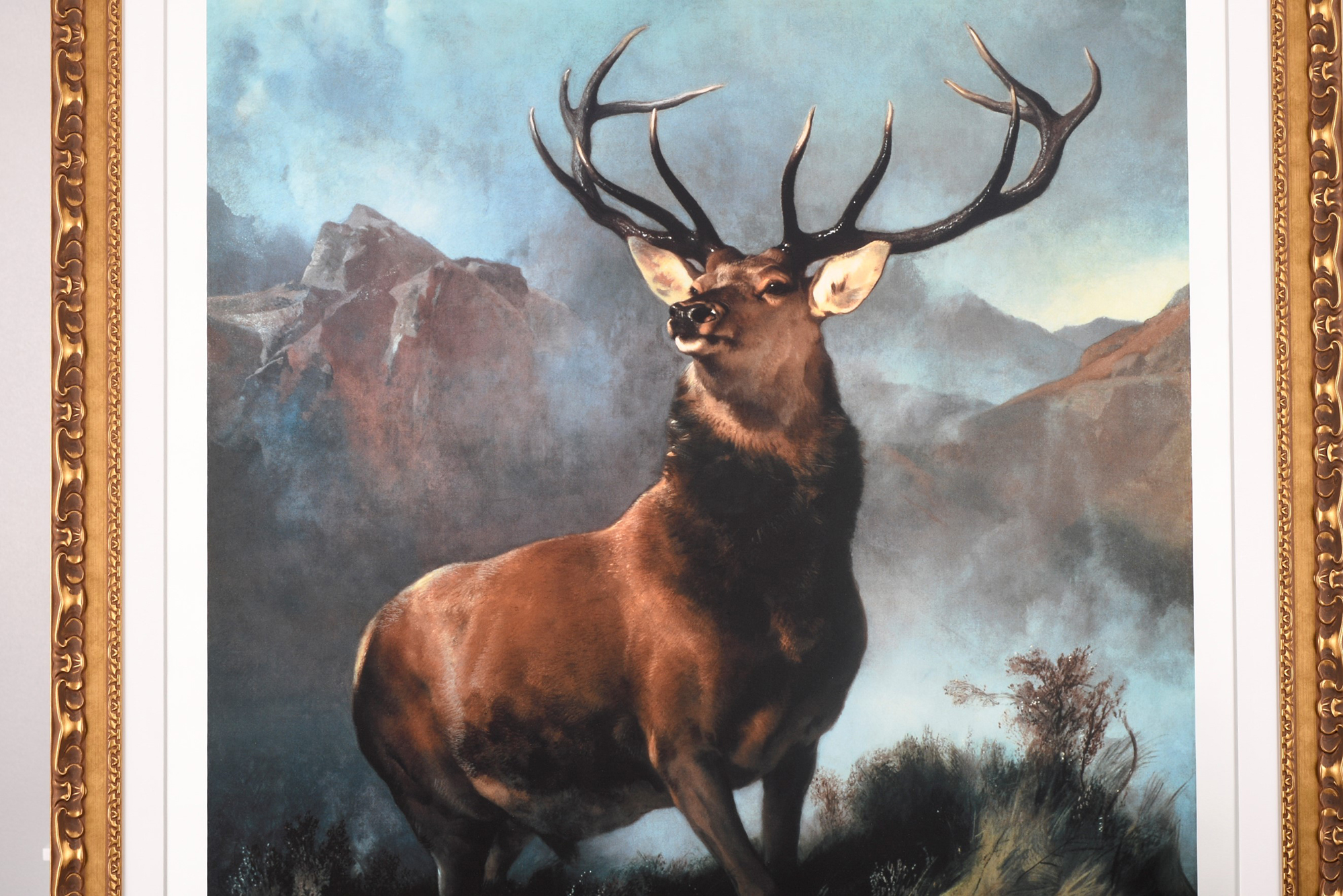 """Edwin Landseer Limited Edition """"Monarch of the Glen"""" 1 of only 85 Worldwide. - Image 9 of 9"""