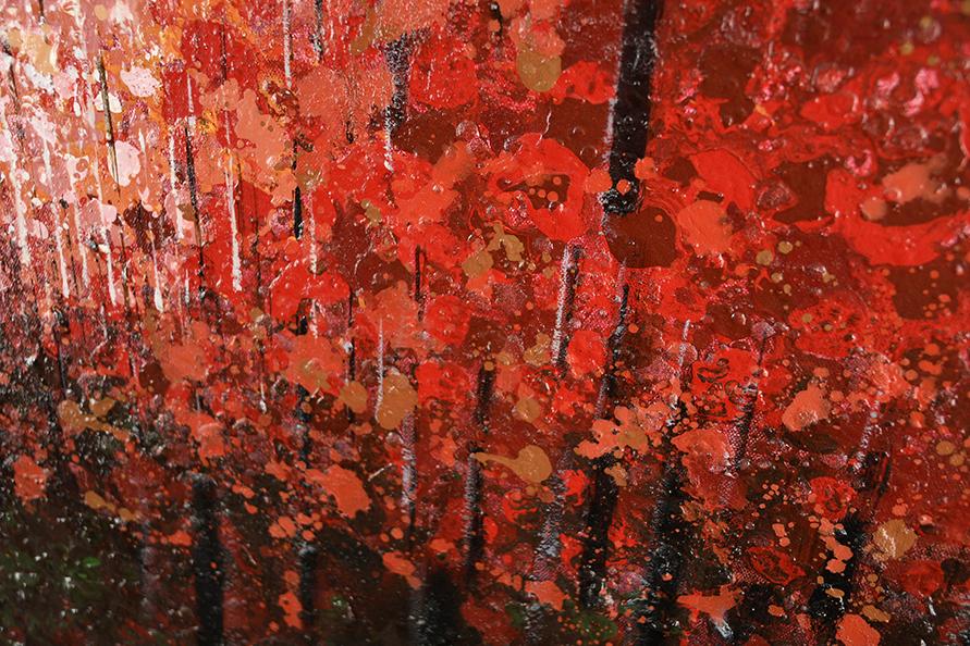 Large Original Impressionist Oil on Canvas - Image 9 of 11
