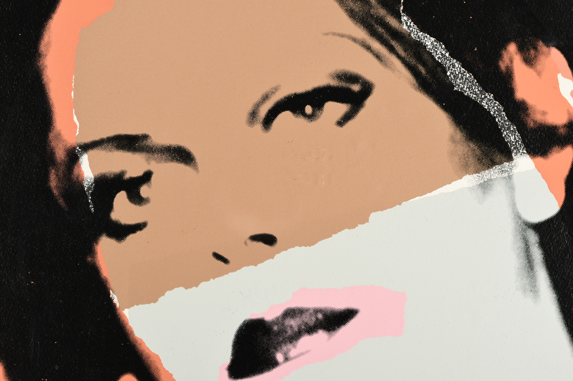 """Rare Signed Andy Warhol Limited Edition Silkscreen Titled """"Ladies and Gentlemen"""" - Image 3 of 15"""