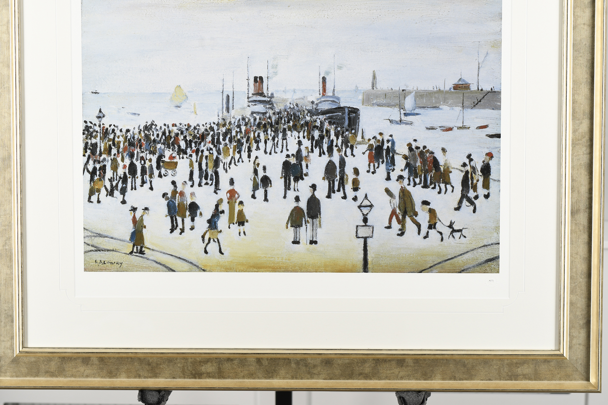 """L.S. Lowry Limited Edition """"The Ferry Boats"""" - Image 6 of 8"""