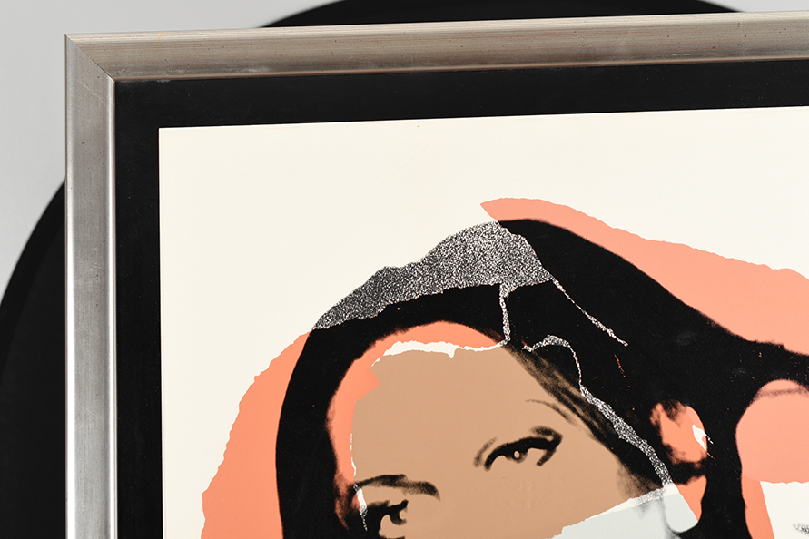 """Rare Signed Andy Warhol Limited Edition Silkscreen Titled """"Ladies and Gentlemen"""" - Image 10 of 15"""