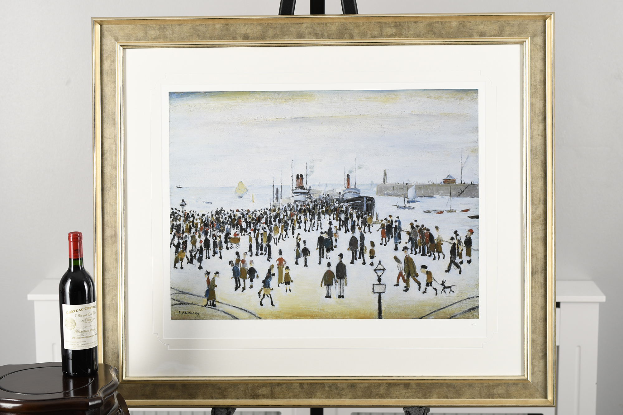 """L.S. Lowry Limited Edition """"The Ferry Boats"""" - Image 7 of 8"""