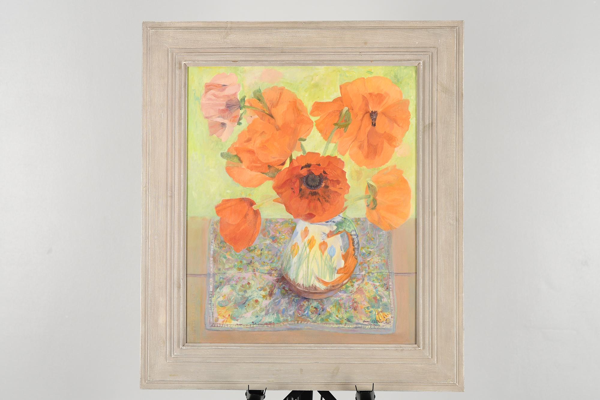 Original Oil Painting by Scottish Artist Ann Patrick. - Image 3 of 9