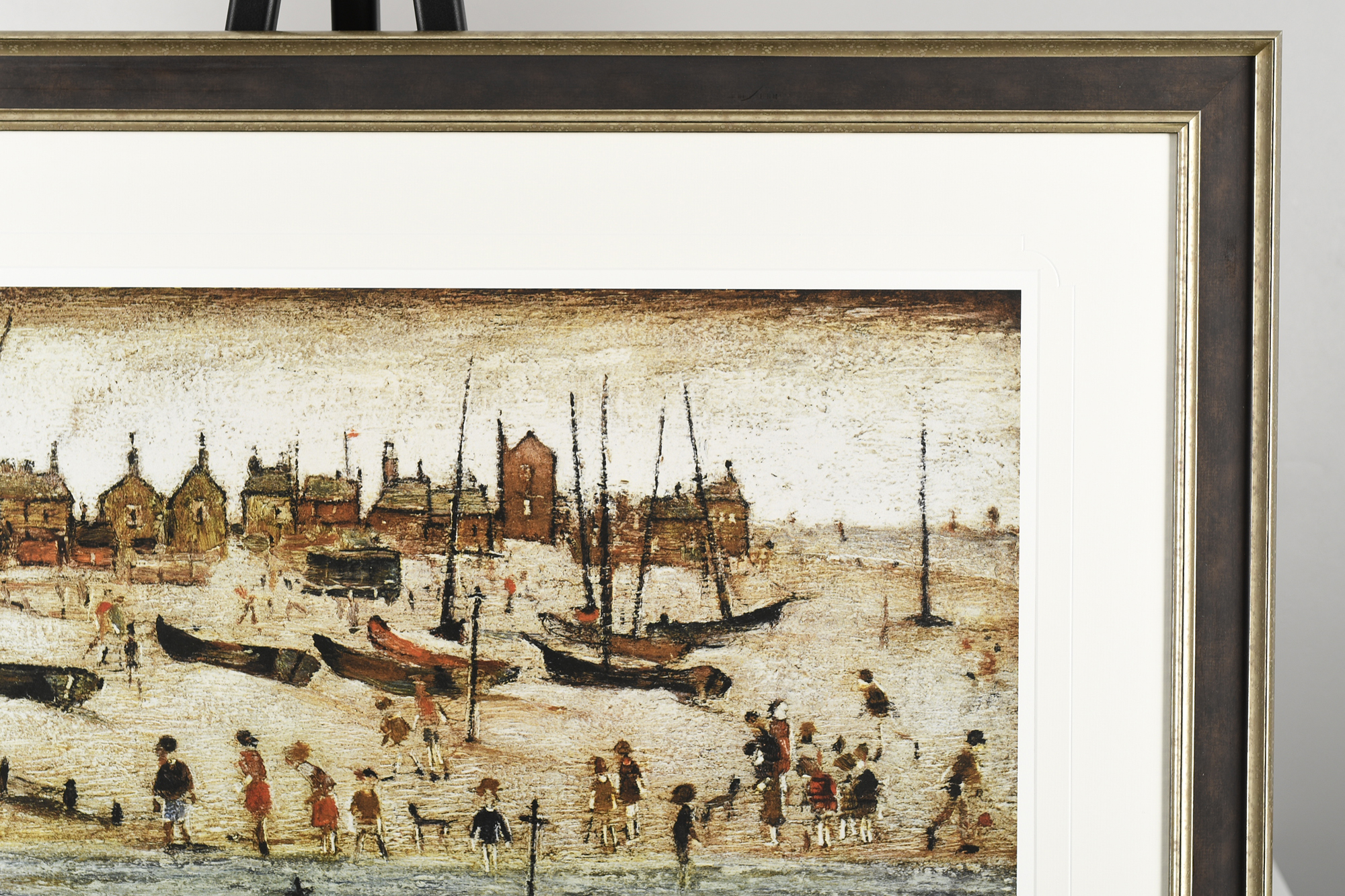 """Limited Edition L.S. Lowry """"The Beach"""" - Image 7 of 9"""
