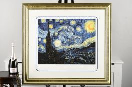 """Vincent Van Gogh Limited Edition """"The Starry Night, June 1889"""""""