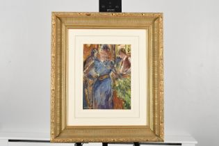 Original framed painting by Italian artist Picariello.