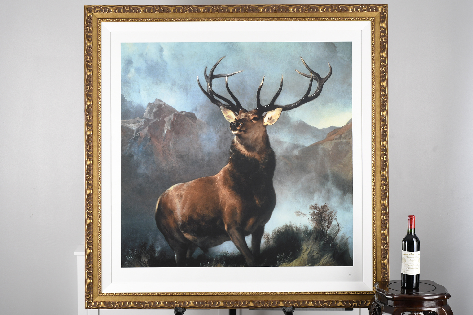 """Edwin Landseer Limited Edition """"Monarch of the Glen"""" 1 of only 85 Worldwide. - Image 6 of 9"""