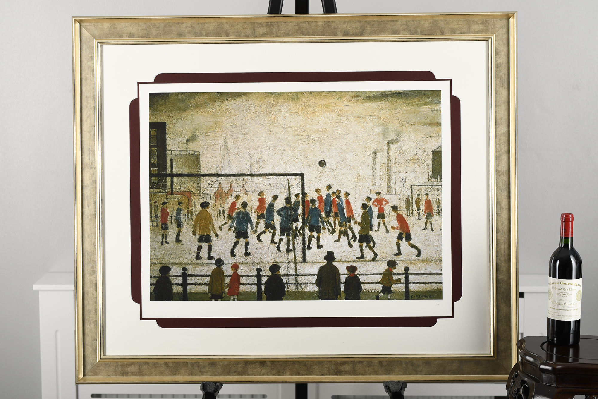 """Limited Edition by L.S. Lowry """"The Football Match"""" - Image 3 of 8"""