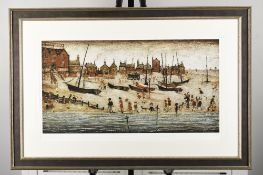 """Limited Edition L.S. Lowry """"The Beach"""""""