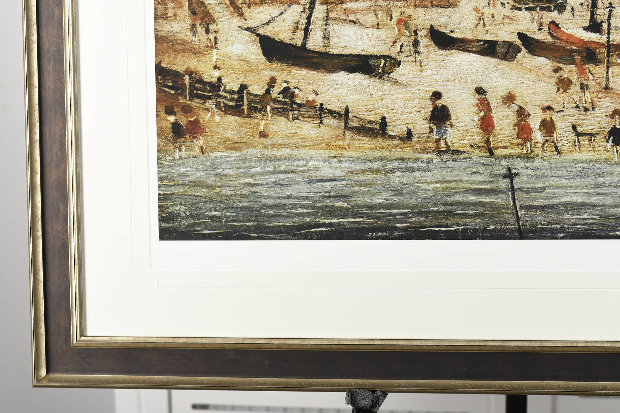 """Limited Edition L.S. Lowry """"The Beach"""" - Image 3 of 9"""