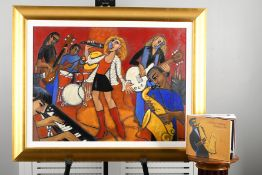 Original Oil on Canvas by American Artist Marsha Hammel