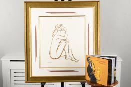 Marsha Hammel Original Framed Sketch