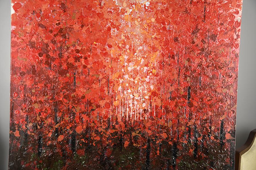 Large Original Impressionist Oil on Canvas - Image 4 of 11