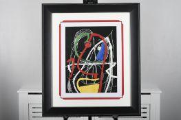 "Joan Miro Limited Edition Titled ""Femme, Oiseaux, 1976"""