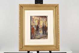 """Original framed painting by Italian artist Picariello titled """"Figura"""""""