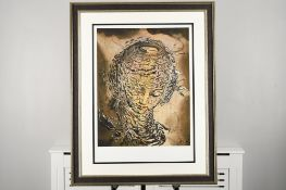 """Salvador Dali Limited Edition Titled """"Exploding Raphalesque Head"""""""