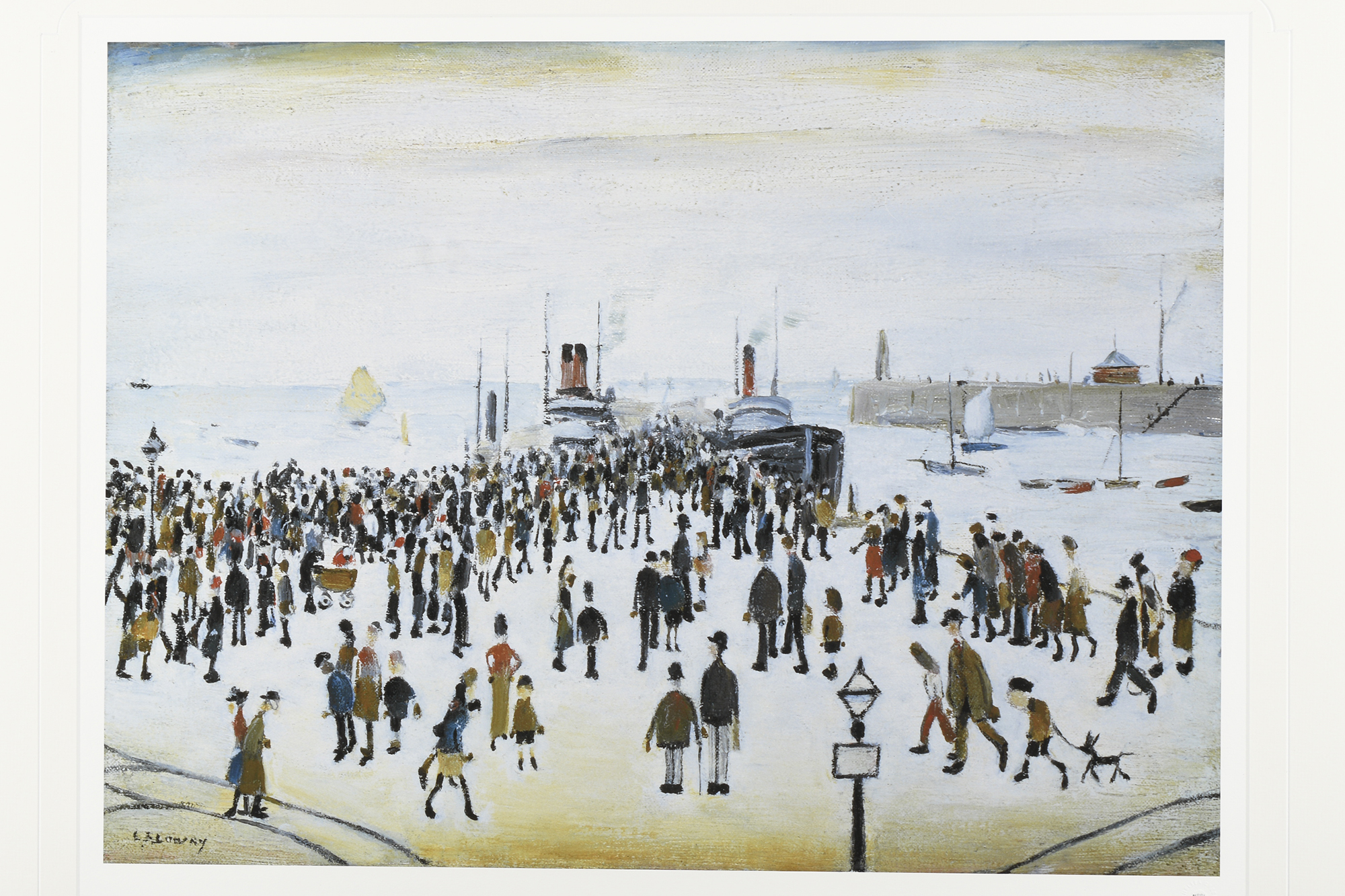 """L.S. Lowry Limited Edition """"The Ferry Boats"""" - Image 8 of 8"""