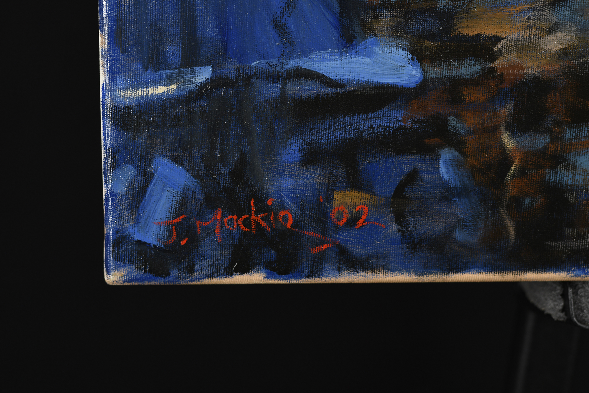 John Mackie original Painting - Image 4 of 6
