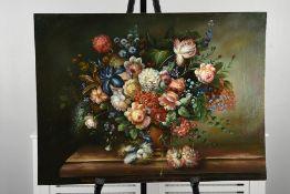 Original Still life Oil on Canvas Board