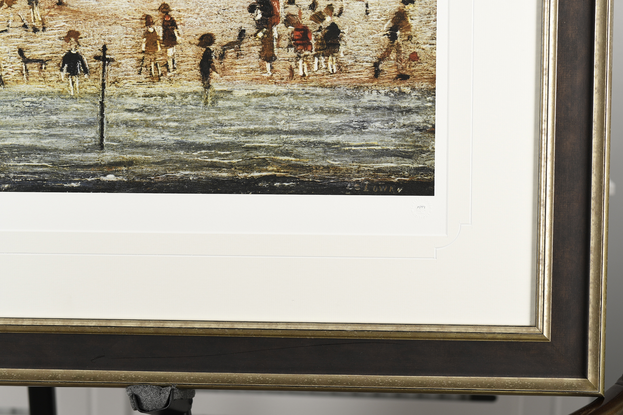 """Limited Edition L.S. Lowry """"The Beach"""" - Image 5 of 9"""