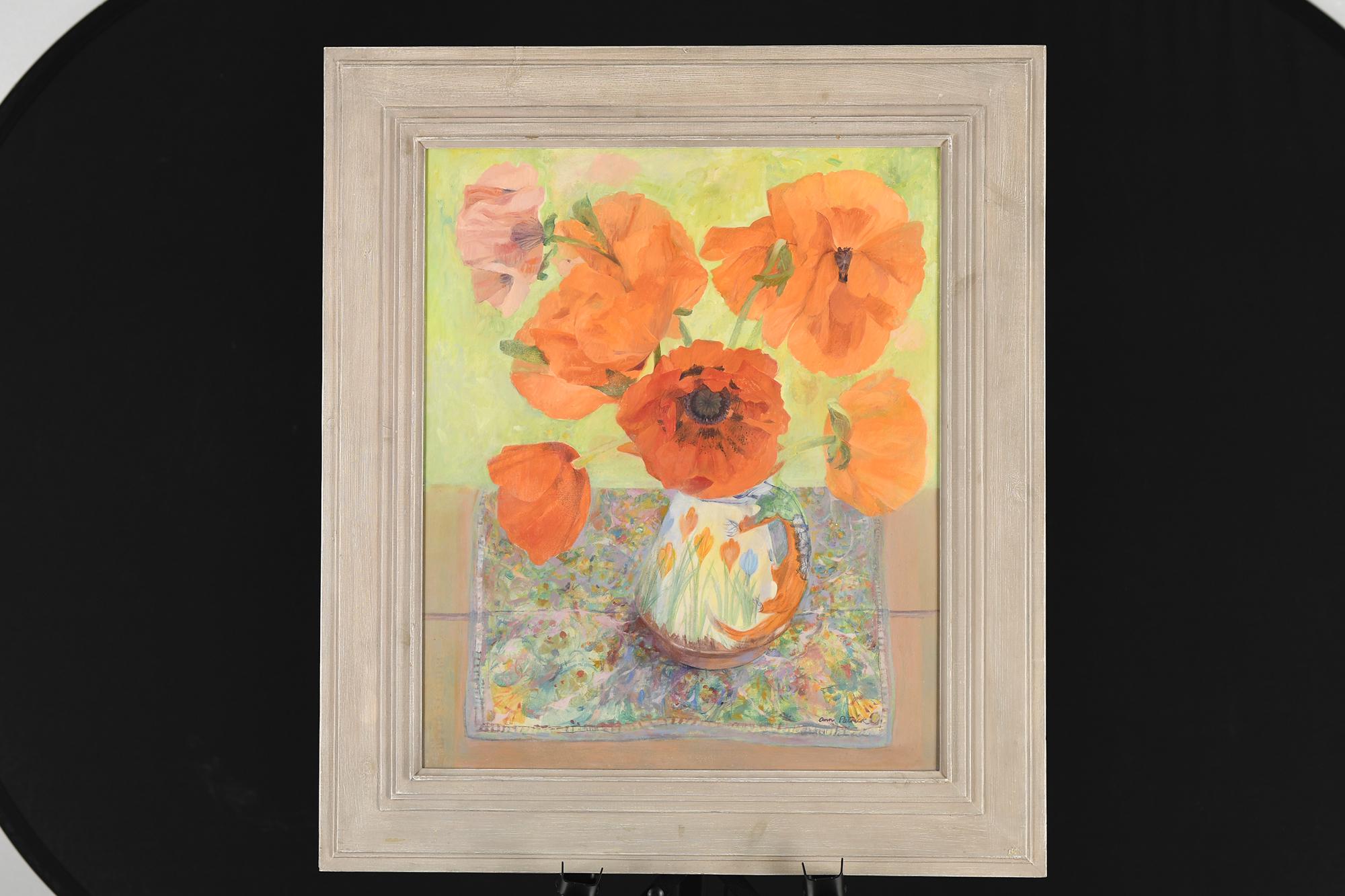 Original Oil Painting by Scottish Artist Ann Patrick.