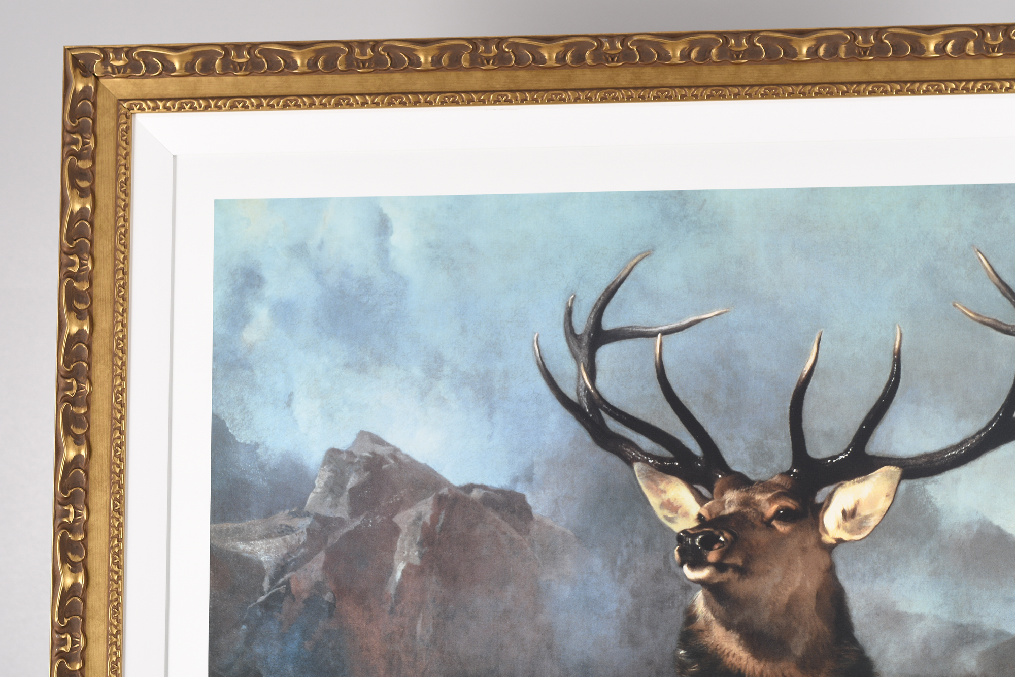 """Edwin Landseer Limited Edition """"Monarch of the Glen"""" 1 of only 85 Worldwide. - Image 4 of 9"""