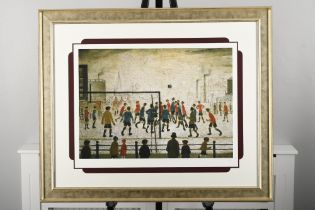 """Limited Edition by L.S. Lowry """"The Football Match"""""""