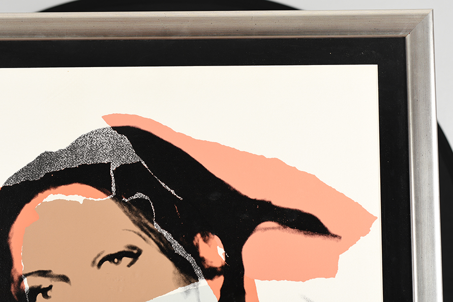 """Rare Signed Andy Warhol Limited Edition Silkscreen Titled """"Ladies and Gentlemen"""" - Image 8 of 15"""