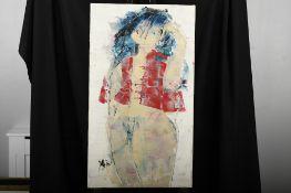 Original Oil on Canvas by Yshi