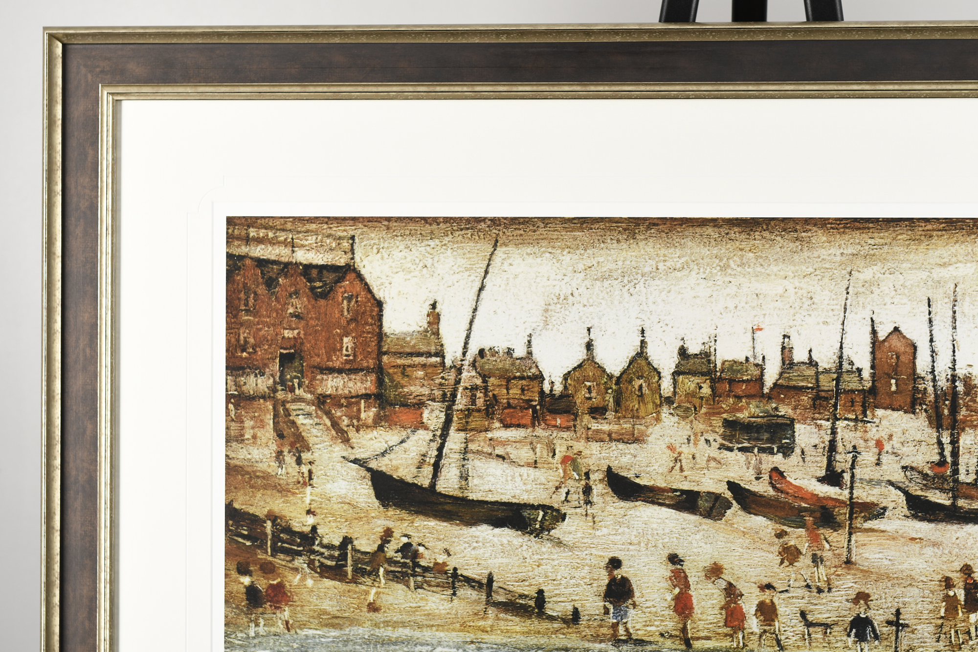 """Limited Edition L.S. Lowry """"The Beach"""" - Image 2 of 9"""